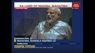 Modi's South Africa Tour: PM Arrives In Durban