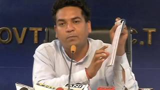 Aap Minister Kapil Mishra exposes LG & ACB's inaction on corruption and FIRs against Sheila Dikshit.