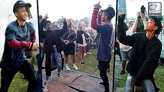 Jaden Smith's CRAZY Dance Off With Sister Willow Smith