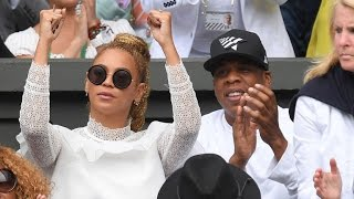 Beyonce and Jay Z Cheer Serena Williams to Victory at Wimbledon Finals