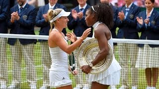Wimbledon 2016 Final - Serena Williams Wins Seventh Wimbledon, Record-Equalling 22nd Major Title