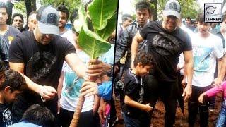 Salman Khan's TREE PLANTATION DRIVE