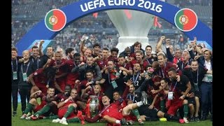 Football: Ronaldo tears as Eder brings Portugal Euro glory