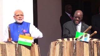 Indian PM Modi visits Tanzania