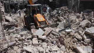 Syria: at least 2 children killed in air strike on Aleppo