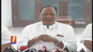Gutha Sukender Reddy Comments on KCR and Slams Congress Party - iNews