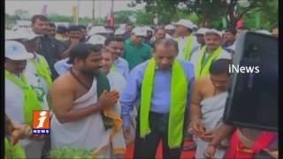 Governor Narasimhan Participates Haritha Haram In BHEL - Telangana Plantation Drive - iNews