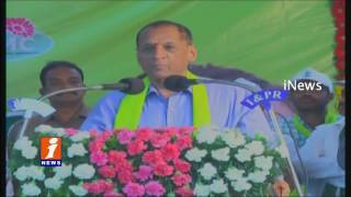 Governor Narasimhan Takes Part In Haritha Haram Plantation Drive - Telangana - iNews