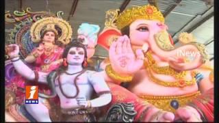HC directs authorities to restrict size of Ganesha idols - iNews