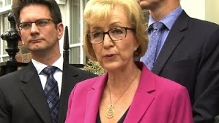 Leadsom Quits Race for UK Prime Minister