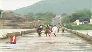Kadam project Overflow with Heavy Rains Adilabad | iNews
