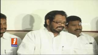 Chandrbabu Govt Neglect on Ambedkar Statues demolish   Harrsha Kumar   iNews