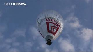 64-yr-old Russian priest hopes to break round-the-world hot-air balloon record