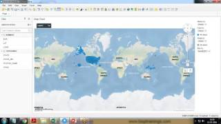 Watch Spotfire Map Implement Map Chart in Tibco Spotfire video