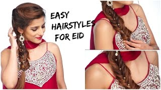 Get Ready With Me For EID | How to: 3 Simple, Quick And Easy Hairstyles