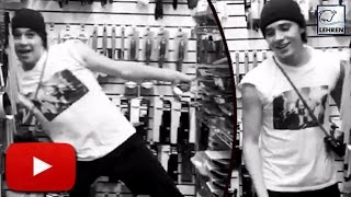 Brooklyn Beckham DANCE On Justin's Cant Stop The Feeling ( Video)