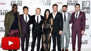 Star Trek Beyond MOVIE PREMIERE (Video) Chris Pine, Simon Pegg