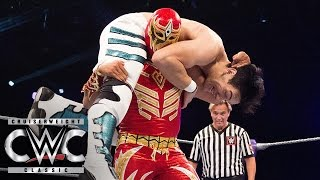 Gran Metalik vs. Alejandro Saez - First Round Match: Cruiserweight Classic, July 13, 2016