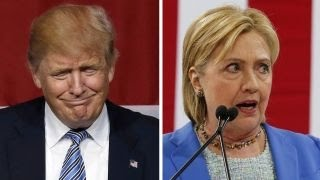 New polls show Trump leading Clinton in key swing states