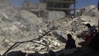 Air strikes kill 12 in rebel-held areas of Syria's Aleppo