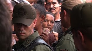 Venezuela's military in charge of food distribution amid unrest