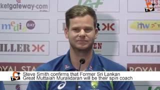 Australia Rope in Muralitharan as consultant ahead of Sri Lanka Tests