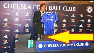Antonio Conte officially unveiled as new Chelsea manager