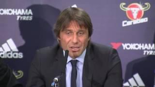 New Chelsea Coach Antonio Conte : First Ever Press Conference