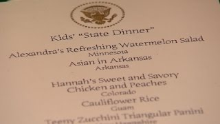 First Lady Urges Kid Chefs To Keep Cooking