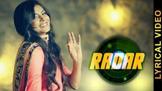 RADAR  NAV DHILLON  LYRICAL VIDEO  New Punjabi Songs 2016
