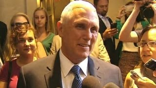 Pence: Excited, humbled, grateful to join GOP ticket