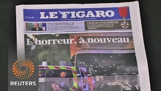"""""""It's not a human act"""" - Parisians in shock after Nice attack"""