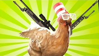 How To Kill Chickens!!! - Chicken Coop CS:GO Map
