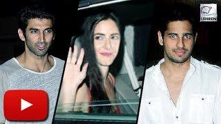 Celebs At Katrina Kaif's Birthday Bash  Arjun Kapoor, Alia Bhatt,Sidharth Malhotra