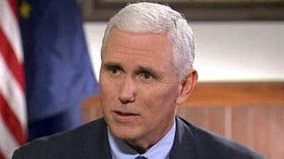 Mike Pence on success as Indiana governer
