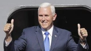 Analyzing the media's reaction to the Pence announcement