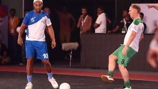Premier Futsal 2016 Ronaldinho 5 Goals - Goa vs Bangaluru 7-2 Goal