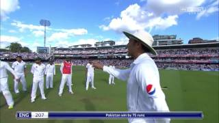 Pakistan Vs England 1st Test Match 2016 - Pakistan Team Tribute to Army