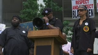 Black Unity Group Protests Ahead of Convention