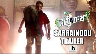 Selfie Raja Sarrainodu trailer