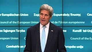 Kerry says EU-US trade deal could ease Brexit damage