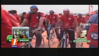 Cycle Trend in Hyderabad | to Protect Health and Pollution | iNews
