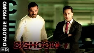 Varun & John vow to live upto the 'Hype' Dishoom Dialogue Promo
