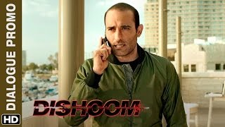 Akshaye Khanna vows to be a Man of his Word  Dishoom  Dialogue Promo