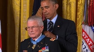 Vietnam Vet Presented With Medal of Honor