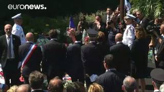 French PM Manuel Valls booed at minute of silence in Nice