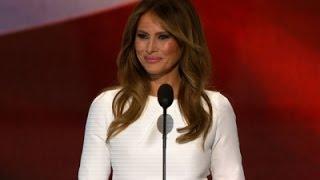 Melania Trump Praises Husband Donald at RNC