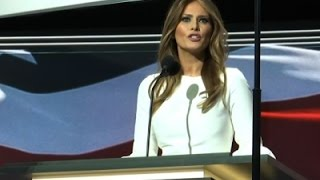 Republicans Enthused By Melania Trump's Address