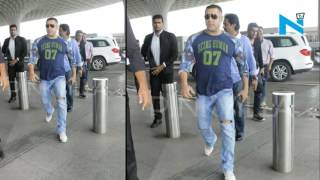 Salman Khan caught arguing with Mumbai airport authorities