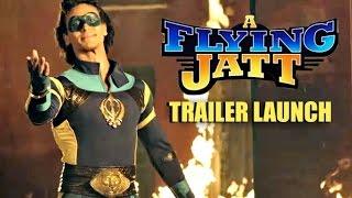 A Flying Jatt Trailer Launch By Tiger Shroff, Jacqueline Fernandez, Nathan Jones, Remo D'Souza